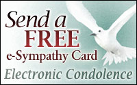 Send a Free e-Tribute - Electric Condolence
