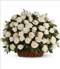 Bountiful Rose Basket by America