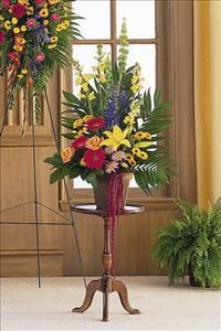 Colorful Container Arrangement by America