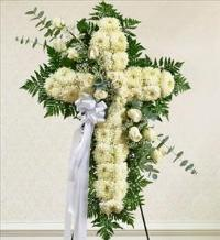 White Cross with White Rose Break by America