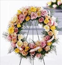 Vibrant Sympathy™ Wreath by America