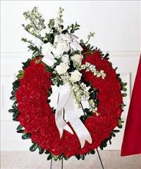 Patriotic Tribute Wreath by America