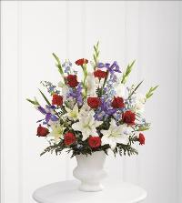 Cherished Farewell Arrangement by America