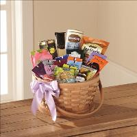 Quiet Tribute Gourmet Basket by America