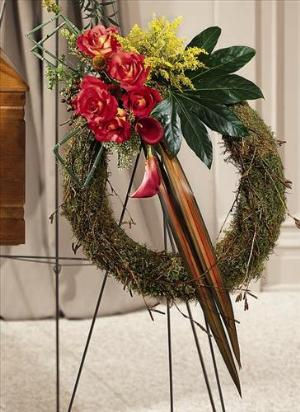 Never-ending Love Wreath by America's Funeral Florist
