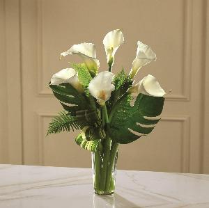 Always Adored Calla Lily Bouquet by America's Funeral Florist