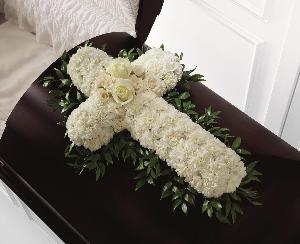 Peaceful Memories Casket Spray by America's Funeral Florist