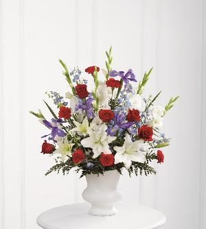 Cherished Farewell Arrangement by America's Funeral Florist
