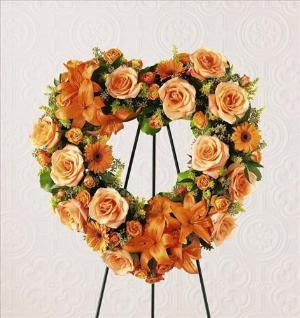 Hearts Eternal™ Wreath by America's Funeral Florist