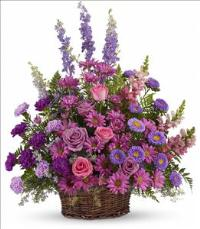 Gracious Lavender Basket by America