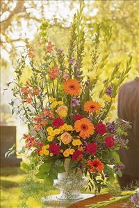 Summer Flowers in Urn by America