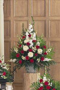 Red & White Arrangement by America