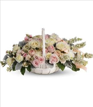 Dawn of Remembrance Basket by America's Funeral Florist