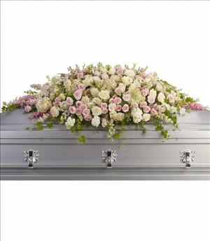 Always Adored Casket Spray by America's Funeral Florist