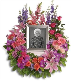 In Memoriam Wreath by America's Funeral Florist