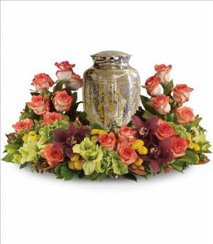 Sunset Wreath by America's Funeral Florist