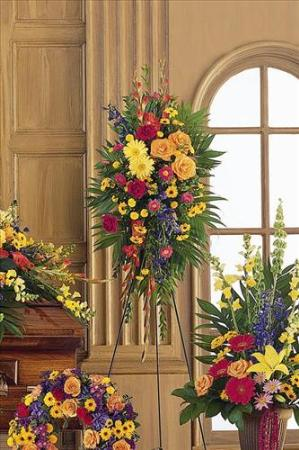 Double-Ended Easel Spray by America's Funeral Florist