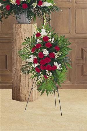 Cherished Moments Spray by America's Funeral Florist