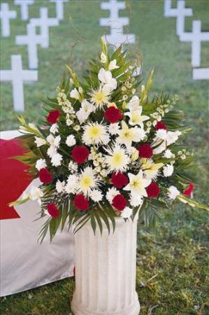 Canadian Setting Arrangement by America's Funeral Florist