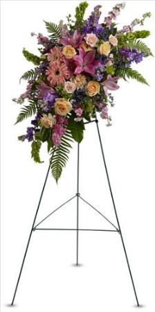Heavenly Grace Spray by America's Funeral Florist