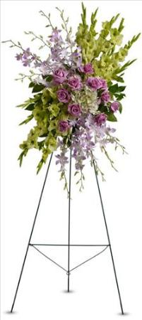 Heavenly Sentiments Spray by America's Funeral Florist