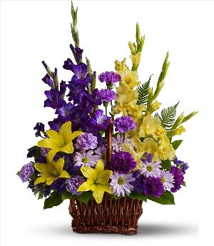 Basket of Memories by America's Funeral Florist