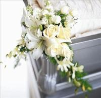 Elegant Remembrance Casket Adornment by America