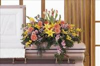 Blooming Glory Casket Spray by America