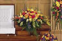 Celebration Of Life Casket Spray by America